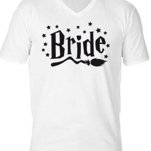 Bride – Férfi V nyakú póló