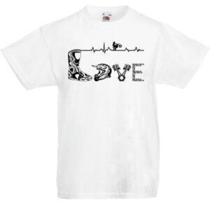 Love motocross- Gyerek póló
