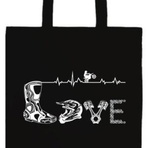 Love motocross- Prémium hosszú fülű táska