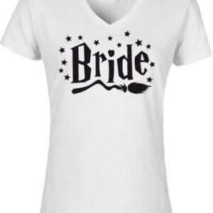 Bride – Női V nyakú póló