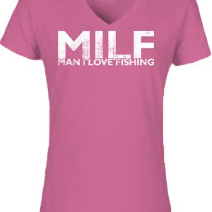 MILF fishing – Női V nyakú póló