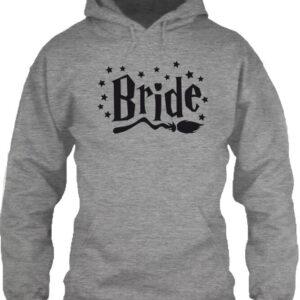 Bride – Unisex kapucnis pulóver