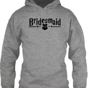 Bridesmaid – Unisex kapucnis pulóver