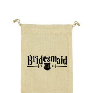 Bridesmaid – Vászonzacskó kicsi