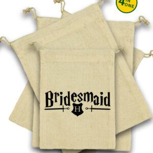 Bridesmaid – Vászonzacskó szett