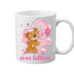 2 éves lettem lány – Bögre