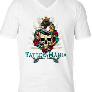 Tattoo mánia – Férfi V nyakú póló