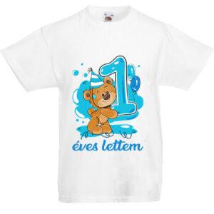 1 éves lettem fiú- Gyerek póló