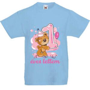 1 éves lettem lány- Gyerek póló