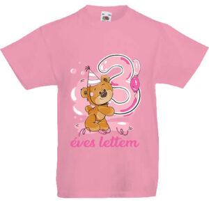 3 éves lettem lány- Gyerek póló