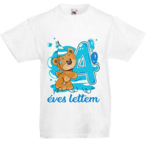 4 éves lettem fiú- Gyerek póló