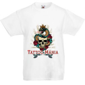 Tattoo mánia- Gyerek póló