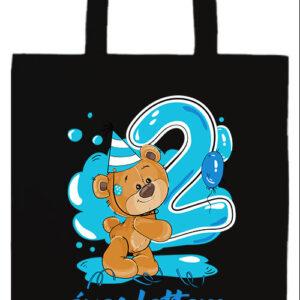 2 éves lettem fiú- Basic hosszú fülű táska