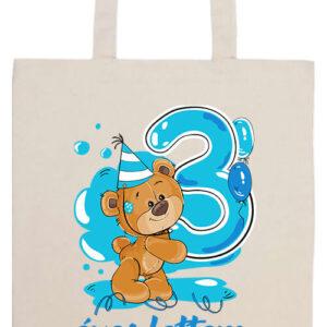 3 éves lettem fiu- Prémium hosszú fülű táska