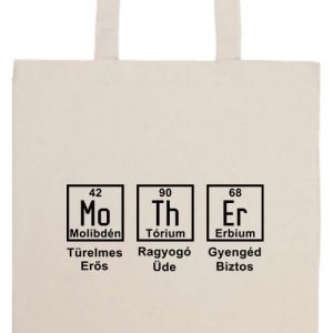 Anya kémia- Basic hosszú fülű táska