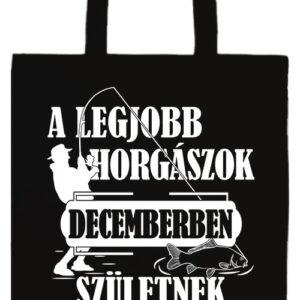 Decemberi horgászok- Prémium hosszú fülű táska