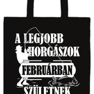 Februári horgászok- Prémium hosszú fülű táska