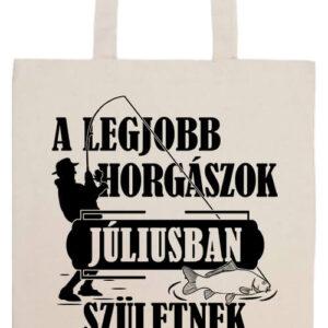 Júliusi horgászok- Prémium hosszú fülű táska