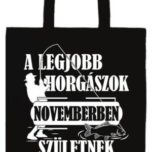 Novemberi horgászok- Prémium hosszú fülű táska