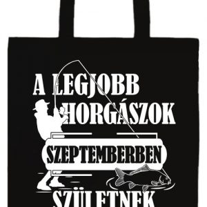 Szeptemberi horgászok- Prémium hosszú fülű táska