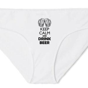 Keep calm beer sör – Női bugyi