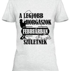 Februári horgászok – Női póló