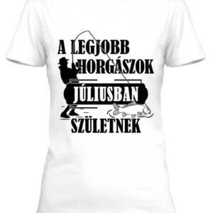 Júliusi horgászok – Női póló