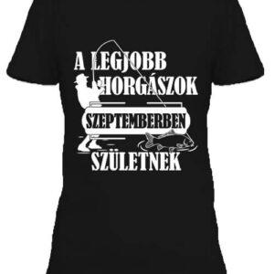 Szeptemberi horgászok – Női póló