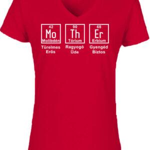 Anya kémia – Női V nyakú póló