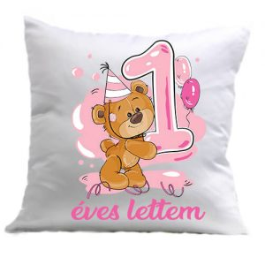 1 éves lettem lány – Párna