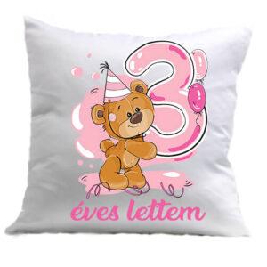 3 éves lettem lány – Párna