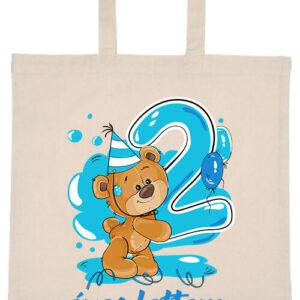2 éves lettem fiú- Basic rövid fülű táska