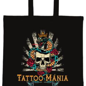 Tattoo mánia- Basic rövid fülű táska