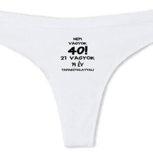 Születésnap 40 – Tanga