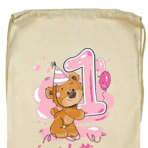 1 éves lettem lány- Prémium tornazsák