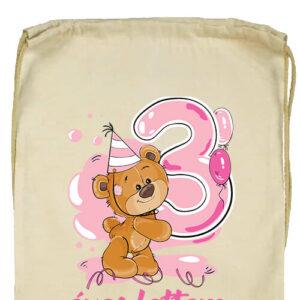 3 éves lettem lány- Prémium tornazsák