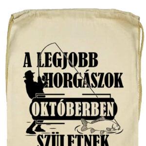 Októberi horgászok- Prémium tornazsák