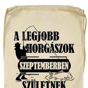 Szeptemberi horgászok- Prémium tornazsák