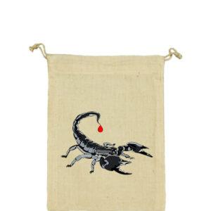 Skorpió – Vászonzacskó közepes