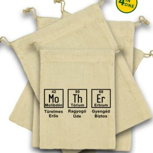 Anya kémia – Vászonzacskó szett