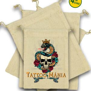 Tattoo mánia – Vászonzacskó szett