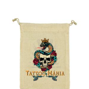 Tattoo mánia – Vászonzacskó közepes
