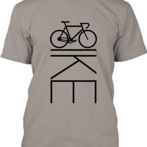 Bicikli kerékpár – Férfi póló