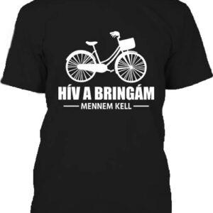 Hív a bringám – Férfi póló