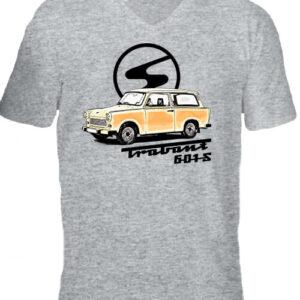 Trabant 601 – Férfi V nyakú póló