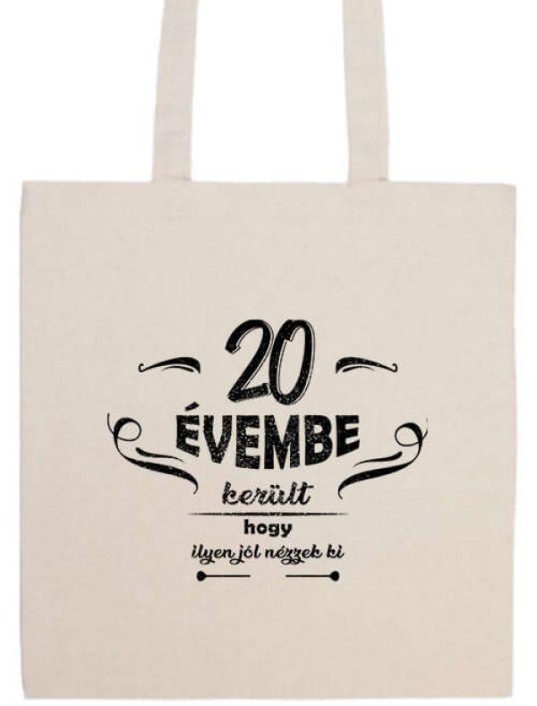 Hosszú fülű táska mánia 20 évembe születésnap fehér