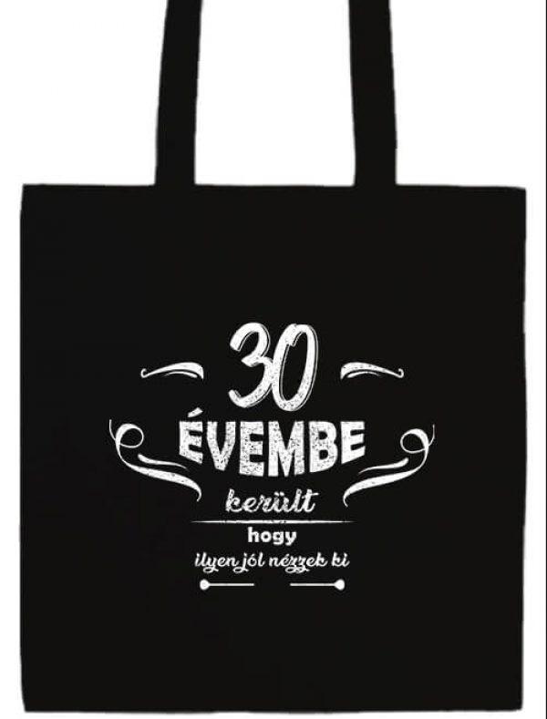 Hosszú fülű táska mánia 30 évembe születésnap fekete