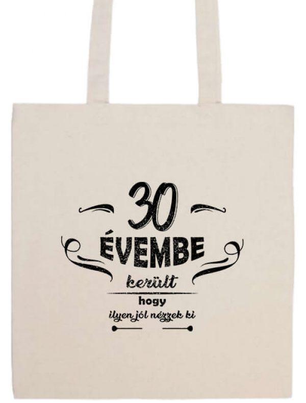 Hosszú fülű táska mánia 30 évembe születésnap fehér