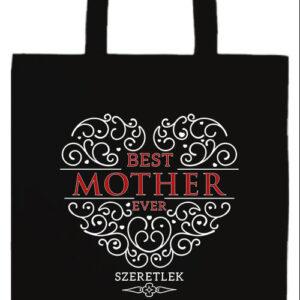 Best mother ever- Basic hosszú fülű táska