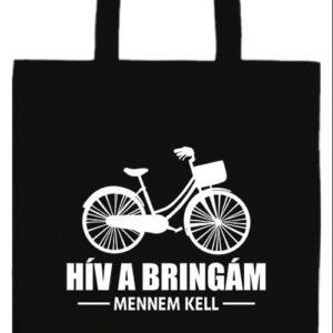 Hív a bringám- Prémium hosszú fülű táska